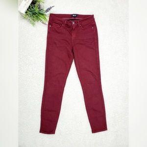 Paige Verdugo Vintage Dark Currant Skinny Jeans